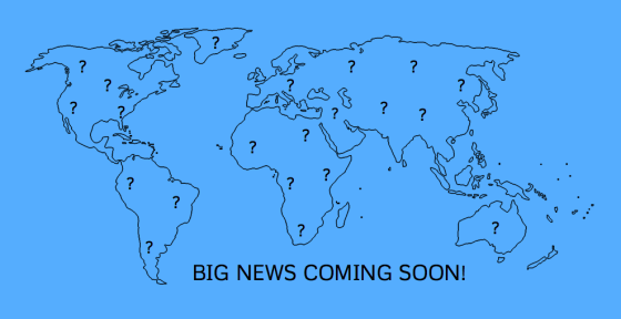 Big news coming soon small